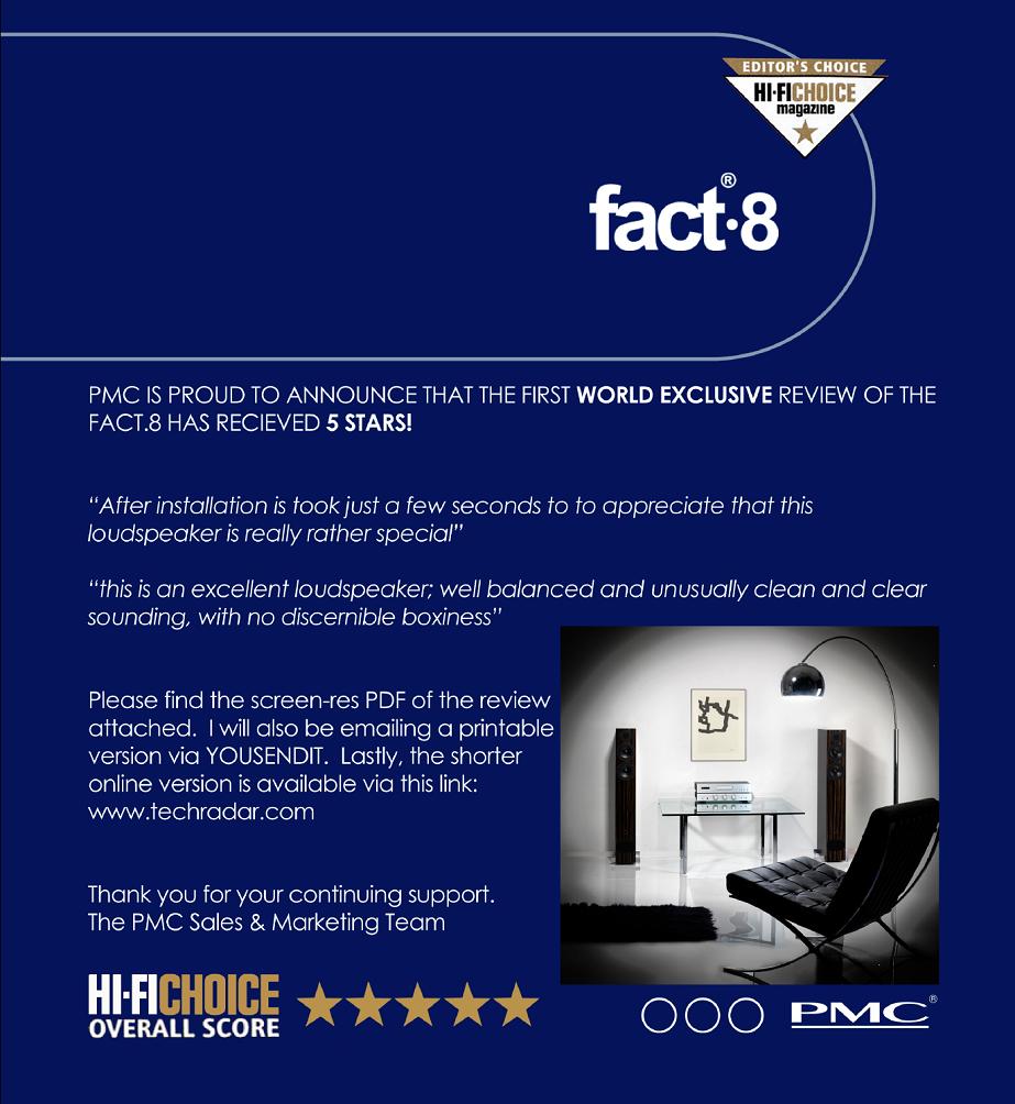 PMC fact.8 HiFi Magellan Rzeszów